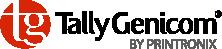 TallyGenicom by Printronix logotip - tiskalniki/printerji